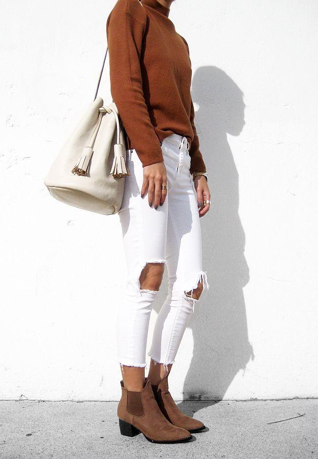 sitio de buena reputación 0326a c3600 Pantalón blanco   Clothes   Moda, Tendencias de moda y Ropa ...