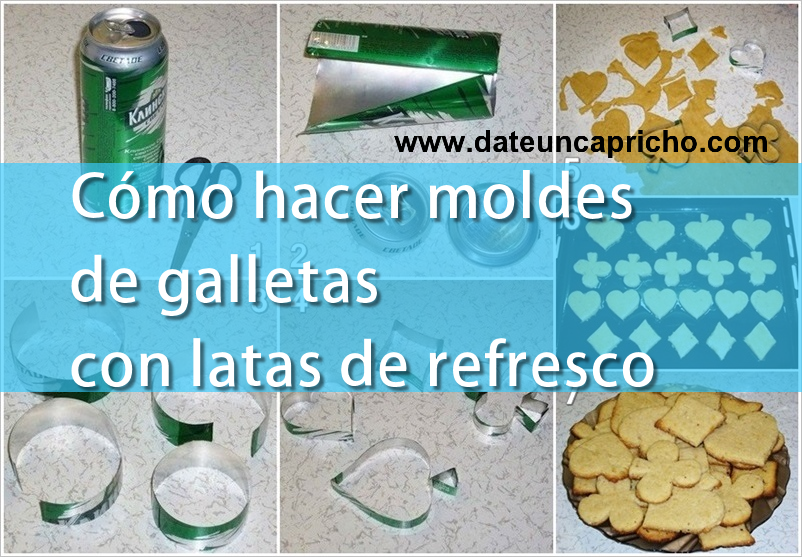 Cómo Hacer Moldes De Galletas Con Latas De Refresco Diy Recycle Hand Soap Bottle Bottle Cap