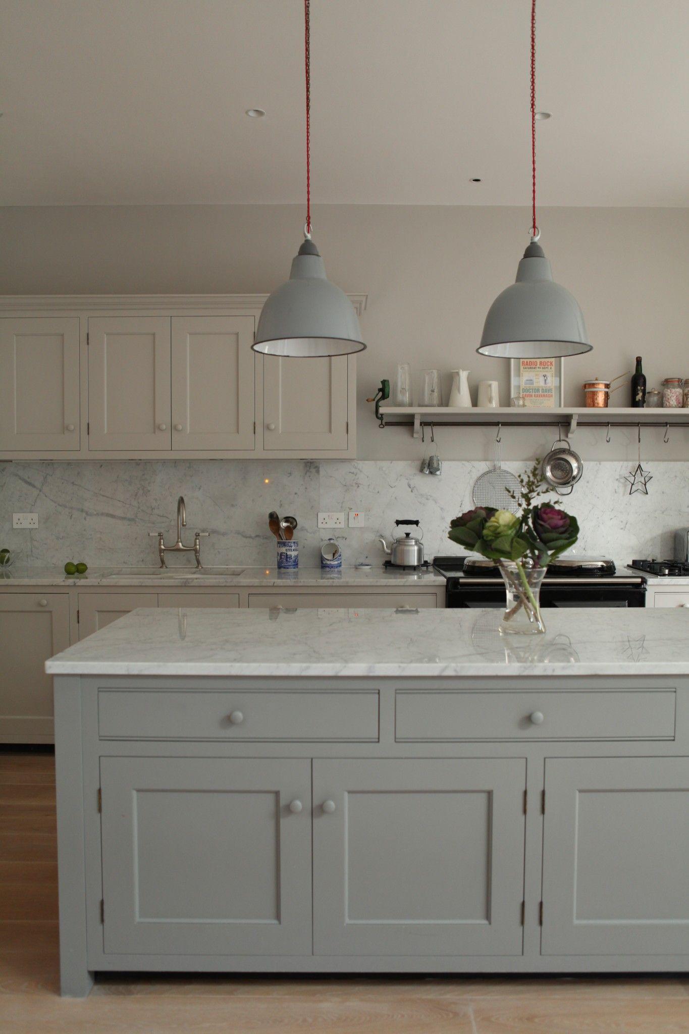 Best Brook Green Traditional Kitchen Carrara Marble Kitchen 400 x 300