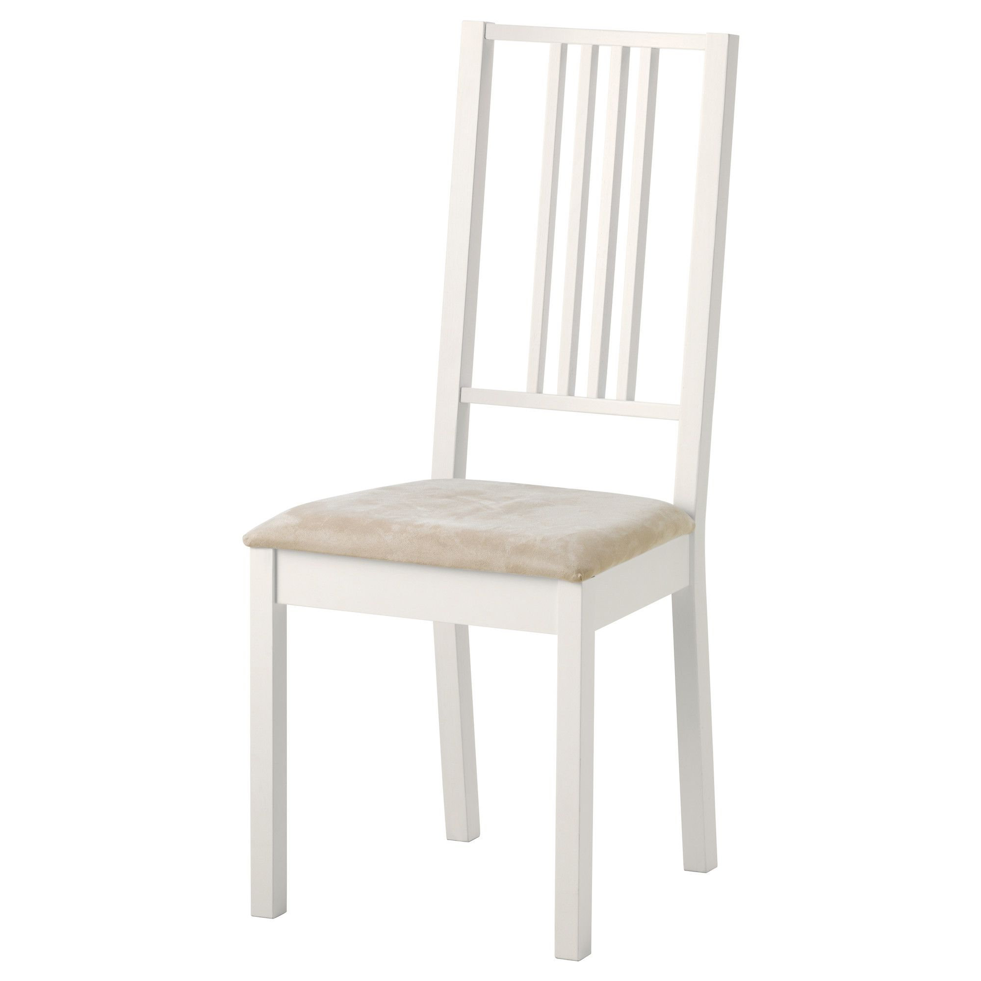 Ikea Les Chaises BÖrje Chair White Kungsvik Sand Ikea Kitchen Dining Room