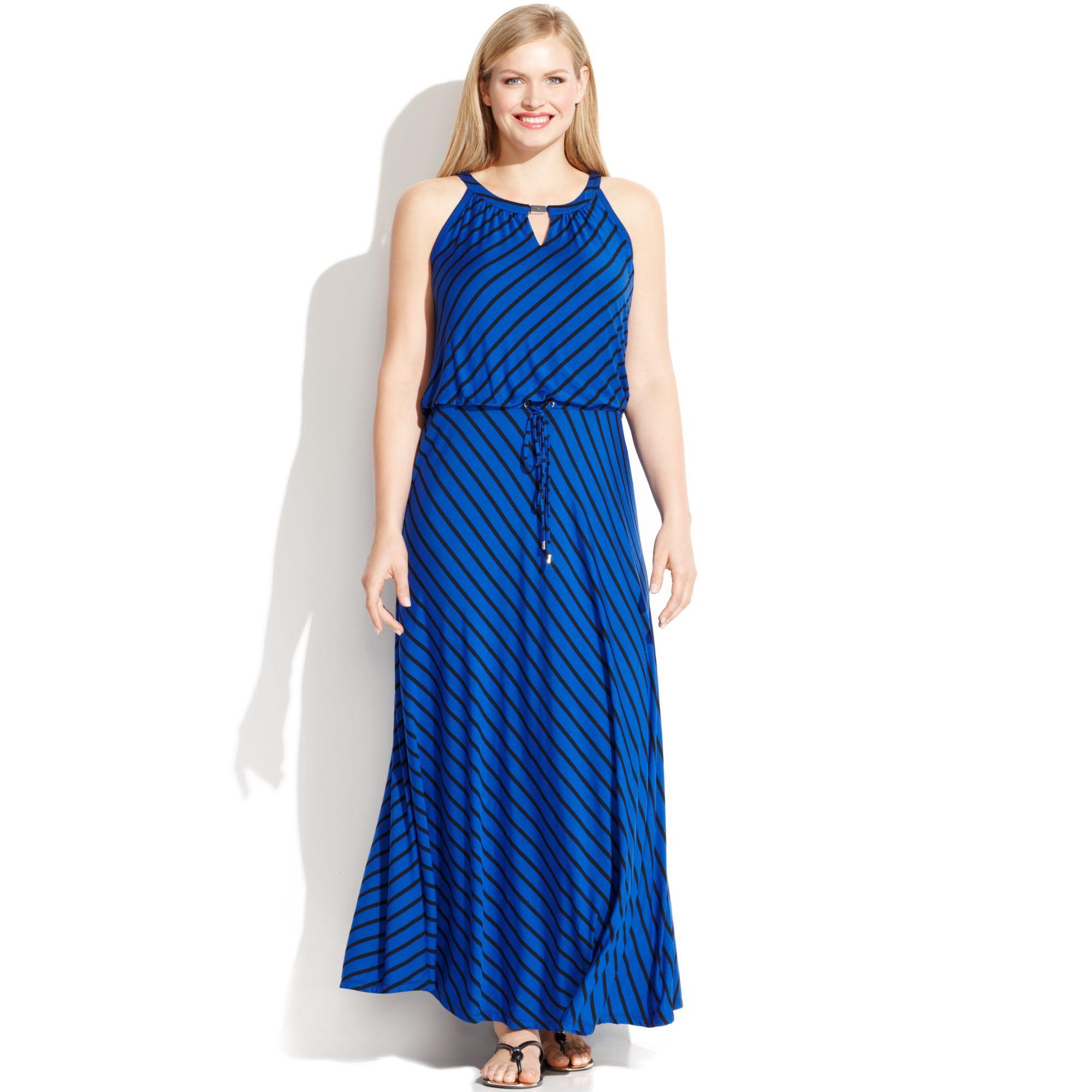 Calvin klein keyhole maxi dress my fashion dresses pinterest