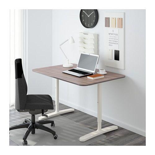 bekant schreibtisch grau wei ikea kleines haus pinterest schreibtisch tisch und buero. Black Bedroom Furniture Sets. Home Design Ideas