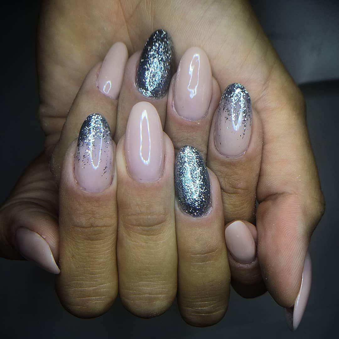 Glitter Cielostellato Passioneunghie Nails Ricostruzionegel Nails Glitter Pins