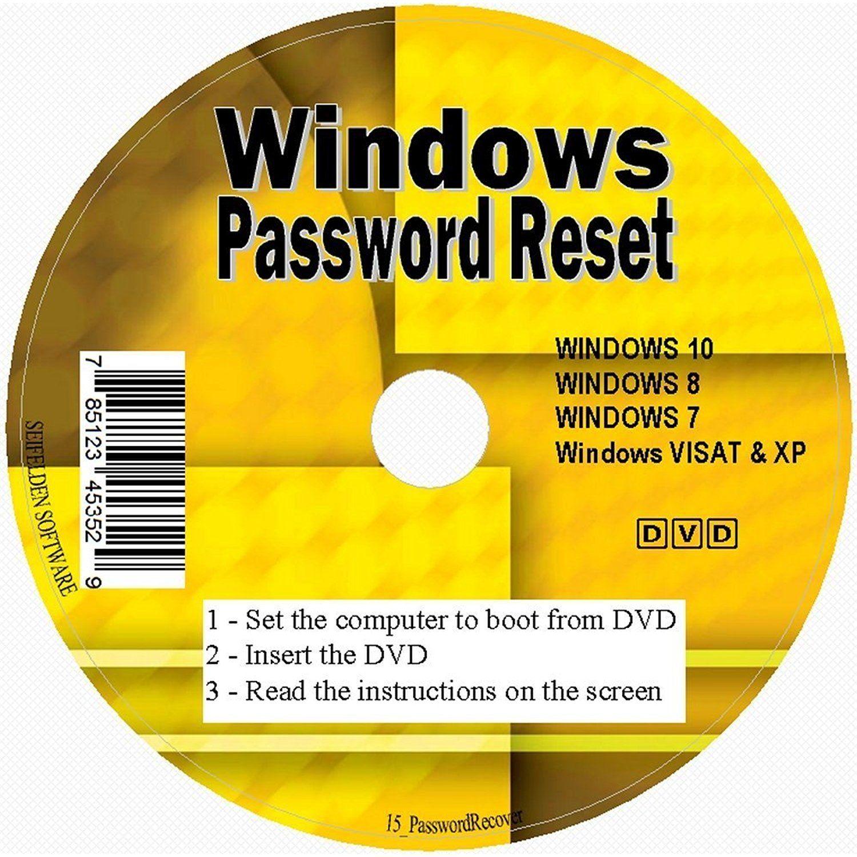 windows vista password reset