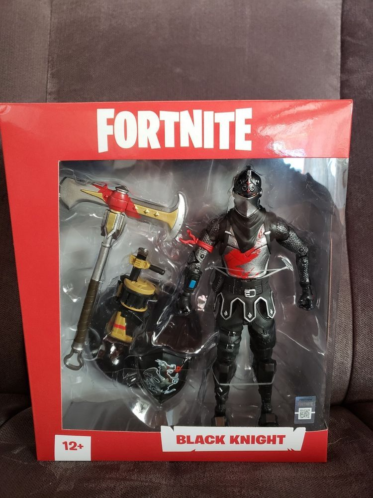 Mcfarlane Toys Fortnite Black Knight Epic Games 7 Inch Action Figure