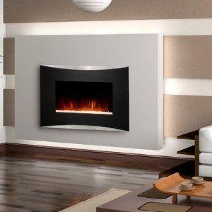 Amazon Com Seaton Wall Mounted Electric Fireplace Patio Lawn