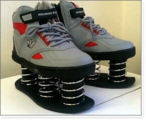 shoes with springs