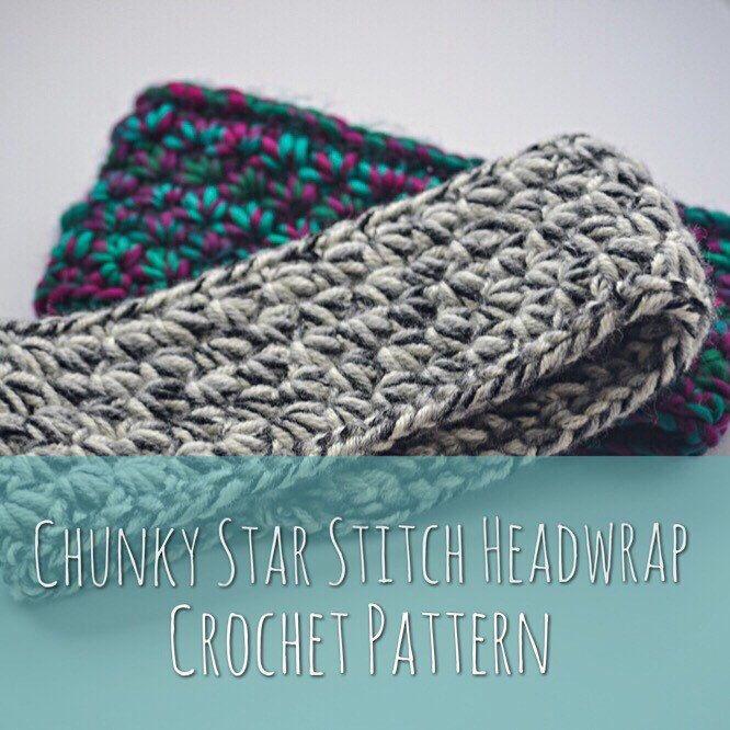 Chunky star stitch headwrap crochet pattern ear warmer pattern free chunky star stitch headwrap crochet pattern by lofty loops yarns dt1010fo