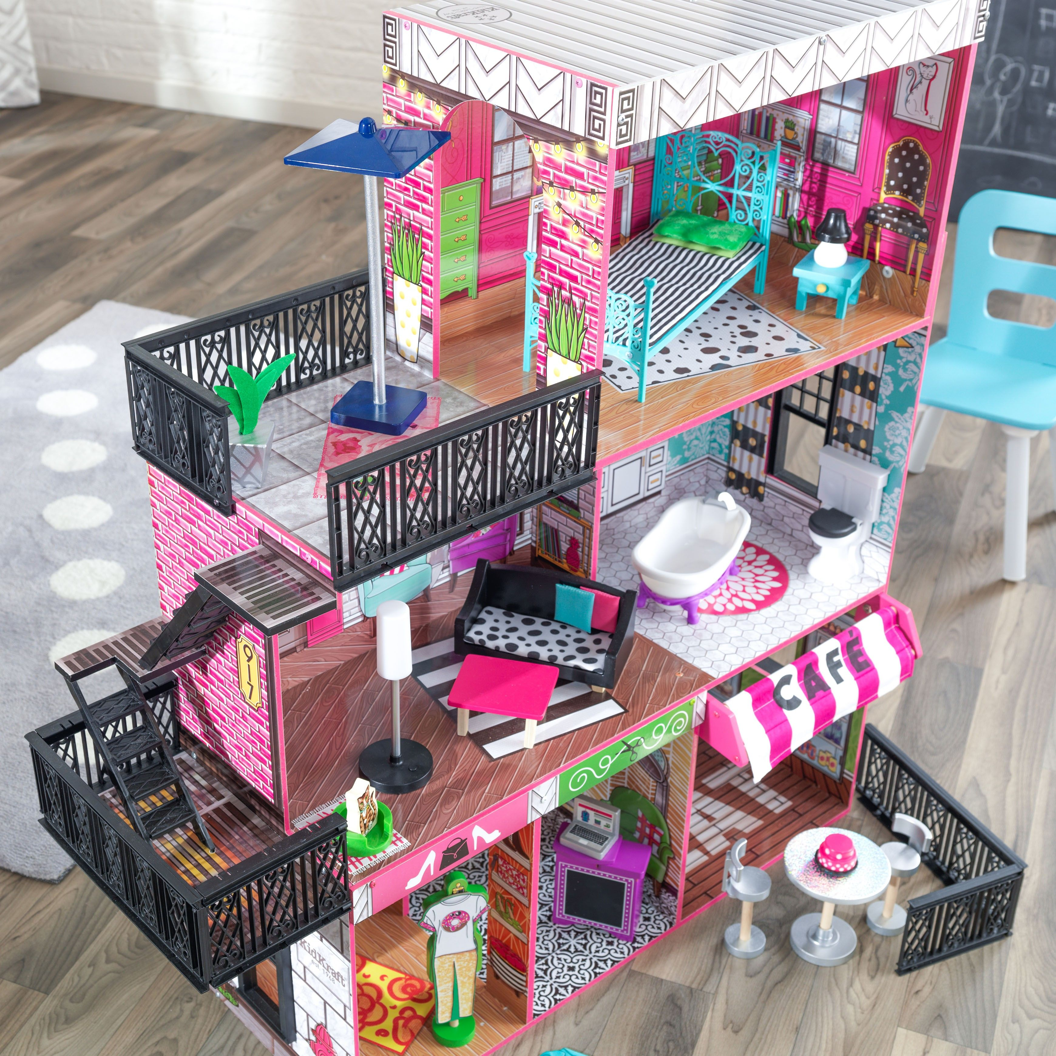 13 Fresh American Girl Doll House Plans Check more at http