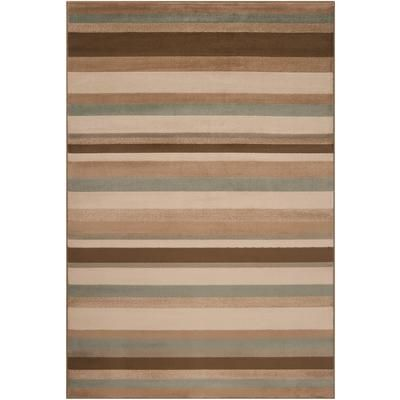 Artistic Weavers - Parlamo Parchment Polypropylene Area Rug - 5 Feet 3 Inches x 7 Feet 6 Inches - Parlamo-B - Home Depot Canada - $105