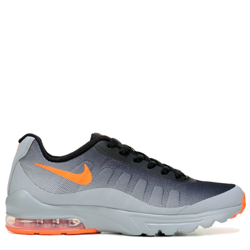info for a43d7 afe04 Nike Kids  Air Max Invigor Running Shoe Preschool Shoes (Grey Orange) -  13.5 M