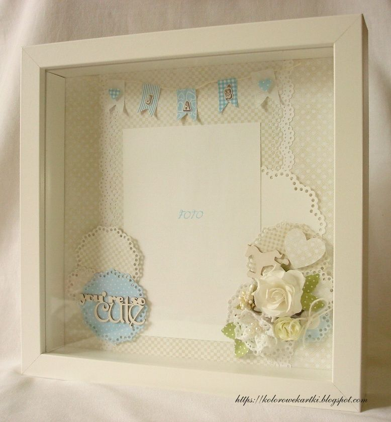 IKEA frame with decorative background | handmade paper things and ...