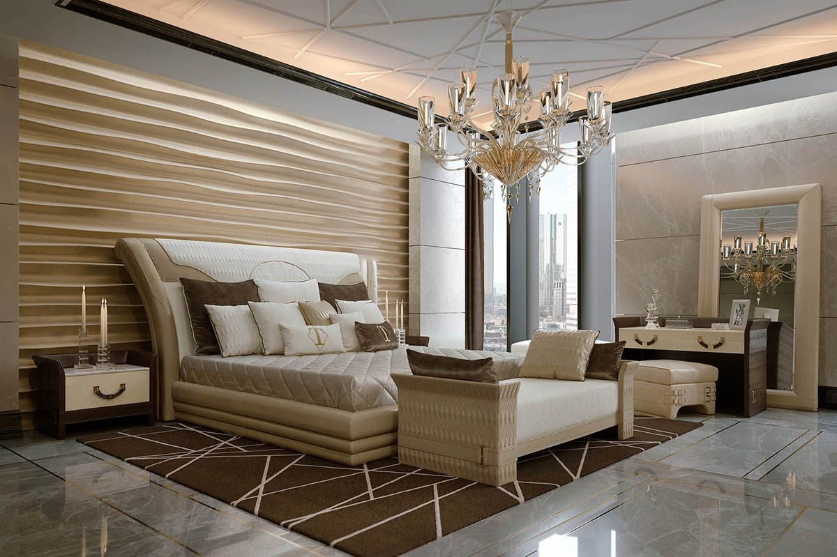 Numero tre bedroom italian luxury design masterbedroom the art of sleeping - Luxury bedroom design ...