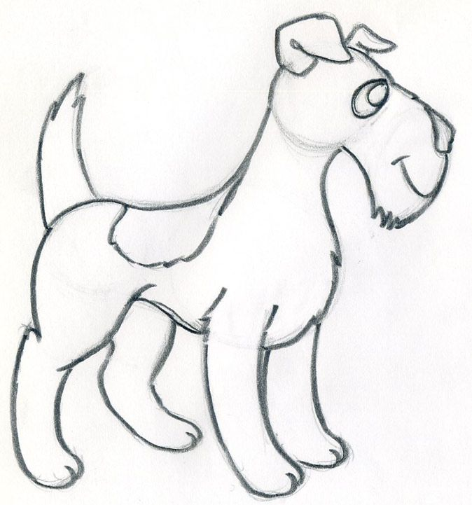 how to draw cartoon dog easily and effortlessly
