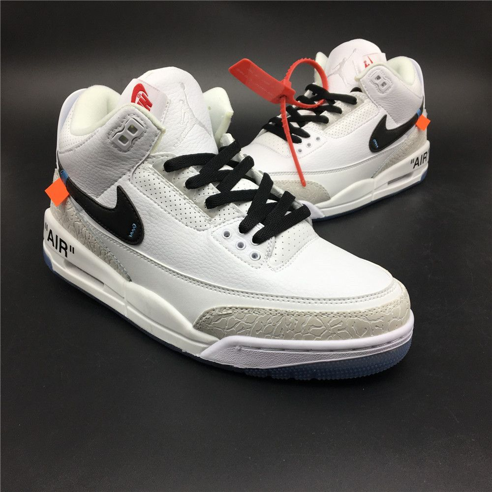 174aa7bb7dfb3f OFF WHITE Air Jordan 3 Come to my store. This pair of shoes is very cheap