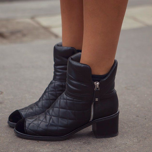 chanel quilted boots. fancy - chanel boots quilted