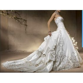Wedding Dress Train Lengths | Princess wedding dresses, Church ...