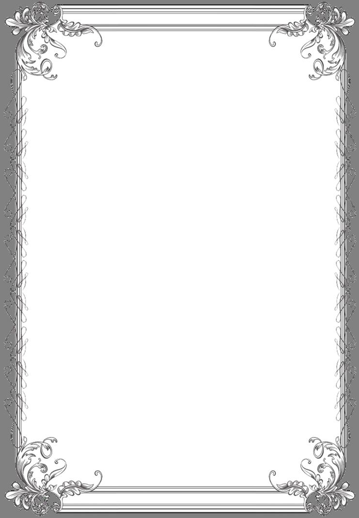 Custom Vintage Frame Five Vintage Frames Clip Art Frames Borders Printable Designs