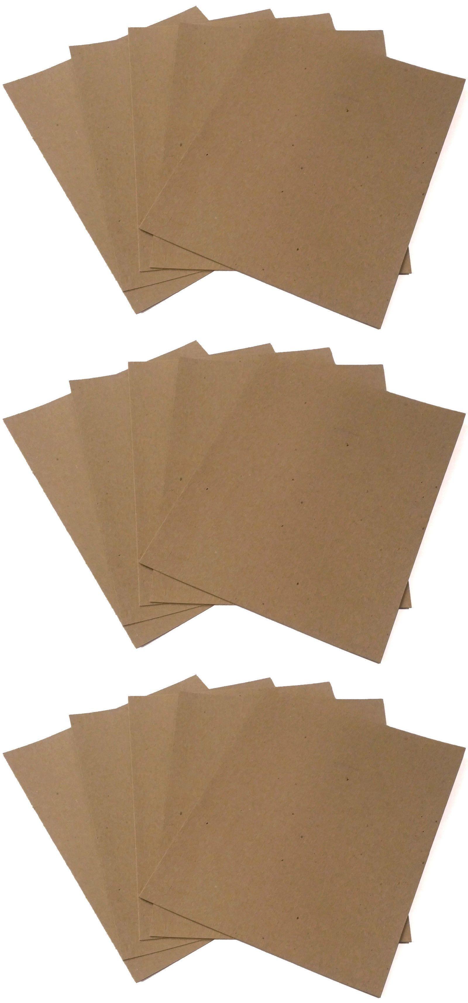 Chipboard Accents 160733 250 8 5 X 11 Chipboard Cardboard Craft