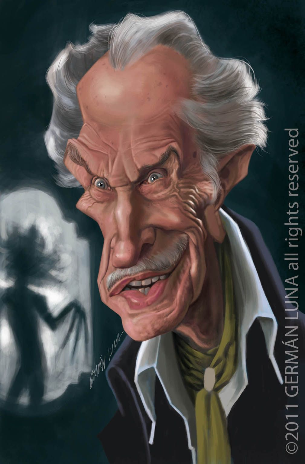 Vincent Price | Funny cartoon faces, Celebrity caricatures ...
