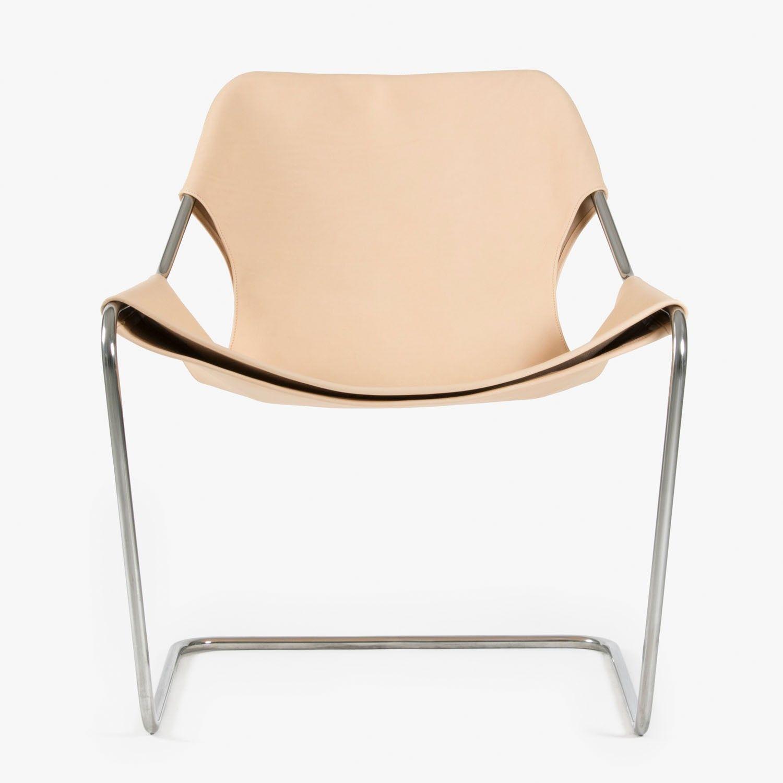 Objekto Paulistano Steel Leather Chair ABC Carpet & Home