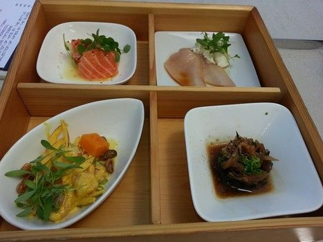 bento box Juvia - to eat only on the terrace...
