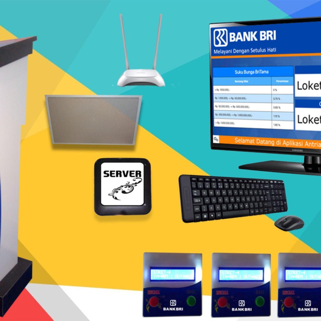 Mesin Antrian Bank Kurs Aplikasi Mesin