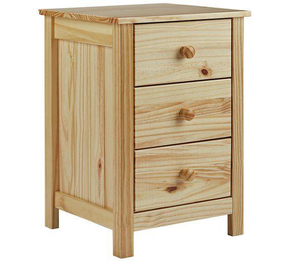 Argos Bedroom Furniture Prepossessing Buy Home New Scandinavia 3 Drawer Bedside Chest  Pine At Argosco Decorating Inspiration