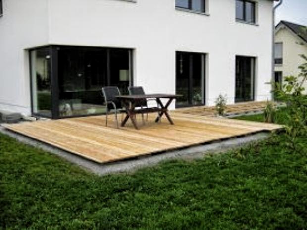 Marios Werkstatt Hausprojekt Terrasse Teil 2 In 2020 Terrasse Bauen Holzterasse Garten Hinterhof Terrassen Designs