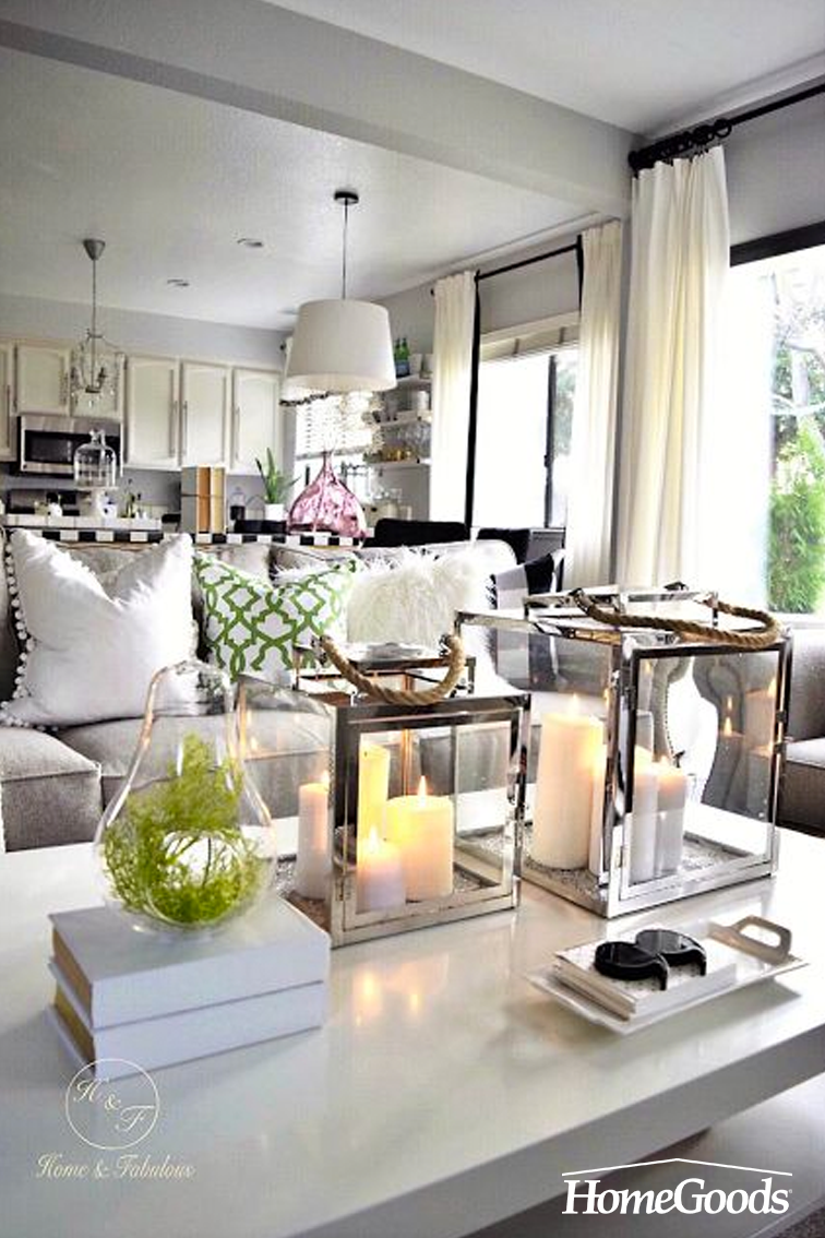 Want Something Simple Yet Elegant To Liven Up Your Coffee Table Try Adding Something Pretty And Elevated Like These Lanterns From H With Images Home Decor Decor Interior