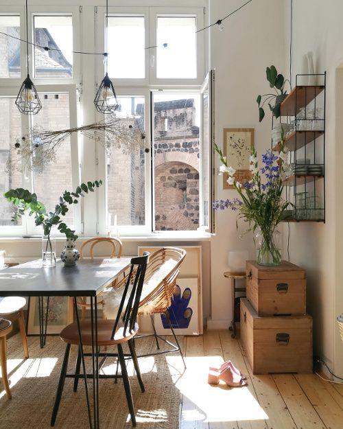 10 idéer för en instagrambar interiör - Kök Ideer #apartmentkitchen