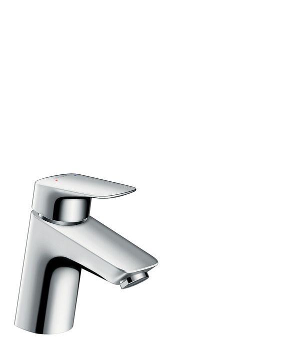 Single lever basin mixer 70 with pop-up waste Bathroom Pinterest - mitigeur cuisine avec douchette extractible
