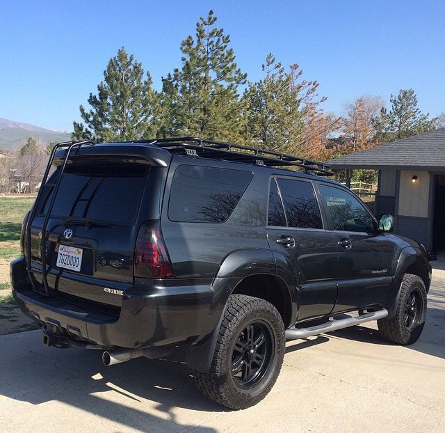 The Only Different Thing I Would Do Is Put A Gobi Roof Rack On A Less Beefy Bumper And A Tire Mount In The Back 4runner 4runner Mods 4th Gen 4runner