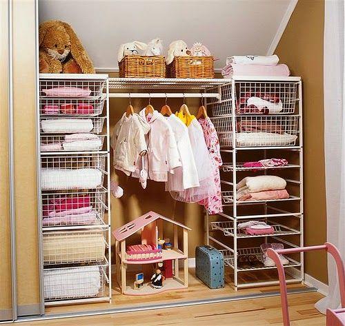 Resultado de imagen para ideas para organizar ropa