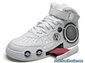 Cool Electronic Gadgets: MP3 Shoes - Shoes of the Future! Do these actually exist? Musical shoes #coolelectronics