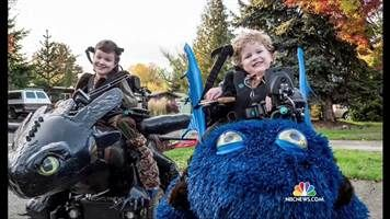 This Dad Creates Awesome Halloween Costumes for Kids in Wheelchairs