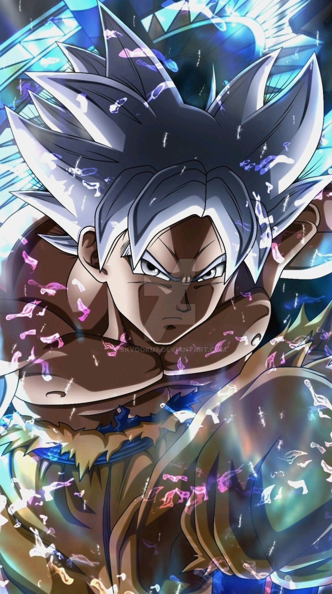 Goku Ultra Instinct Live Wallpaper For Android