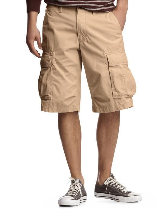 The typical wearer pairs cargo shorts with a Hawaiian shirt ...