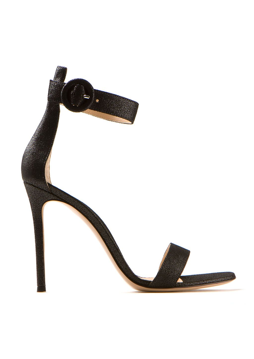 9c3c0609b963 Gianvito Rossi Sandals    Gianvito Rossi black iridescent leather high  heels sandals
