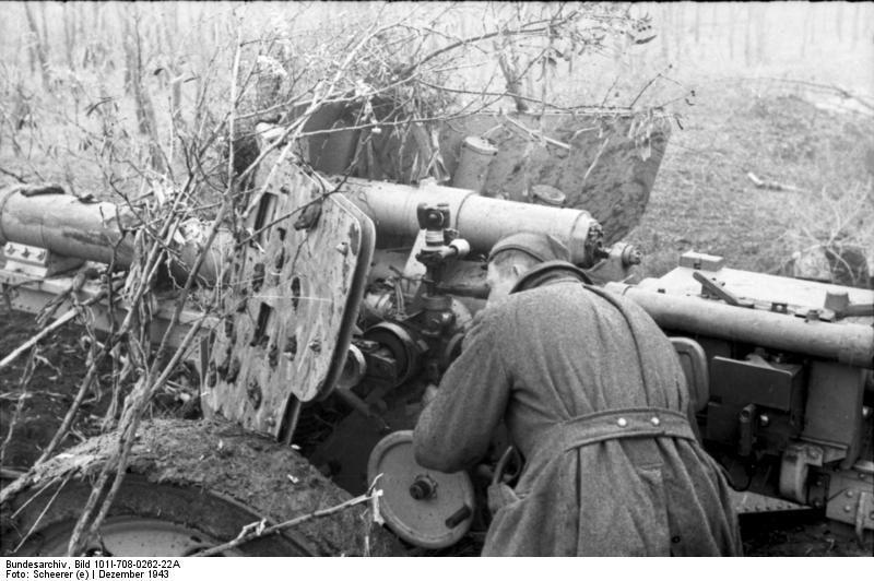 Flak 88mm Anti-tank Rußland-Süd (Ukraine), December 1943.