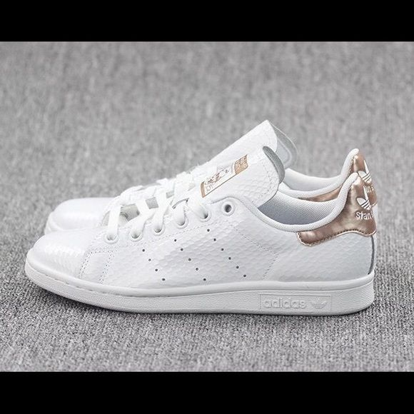 official photos 2af33 68863 Adidas Stan Smith White Copper Brand New Sold Out Adidas Stan Smith brand  new, sold out in US, size 8.5 (run big) Adidas Shoes Sneakers