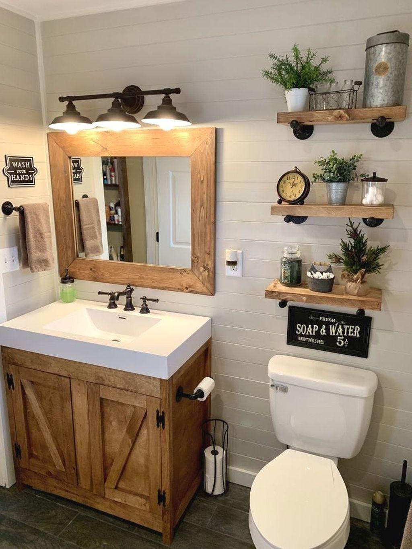 44++ Farmhouse bathrooms 2020 most popular