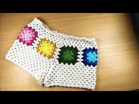 Short Verão Barroco - YouTube | Crochet Patterns | Pinterest ...