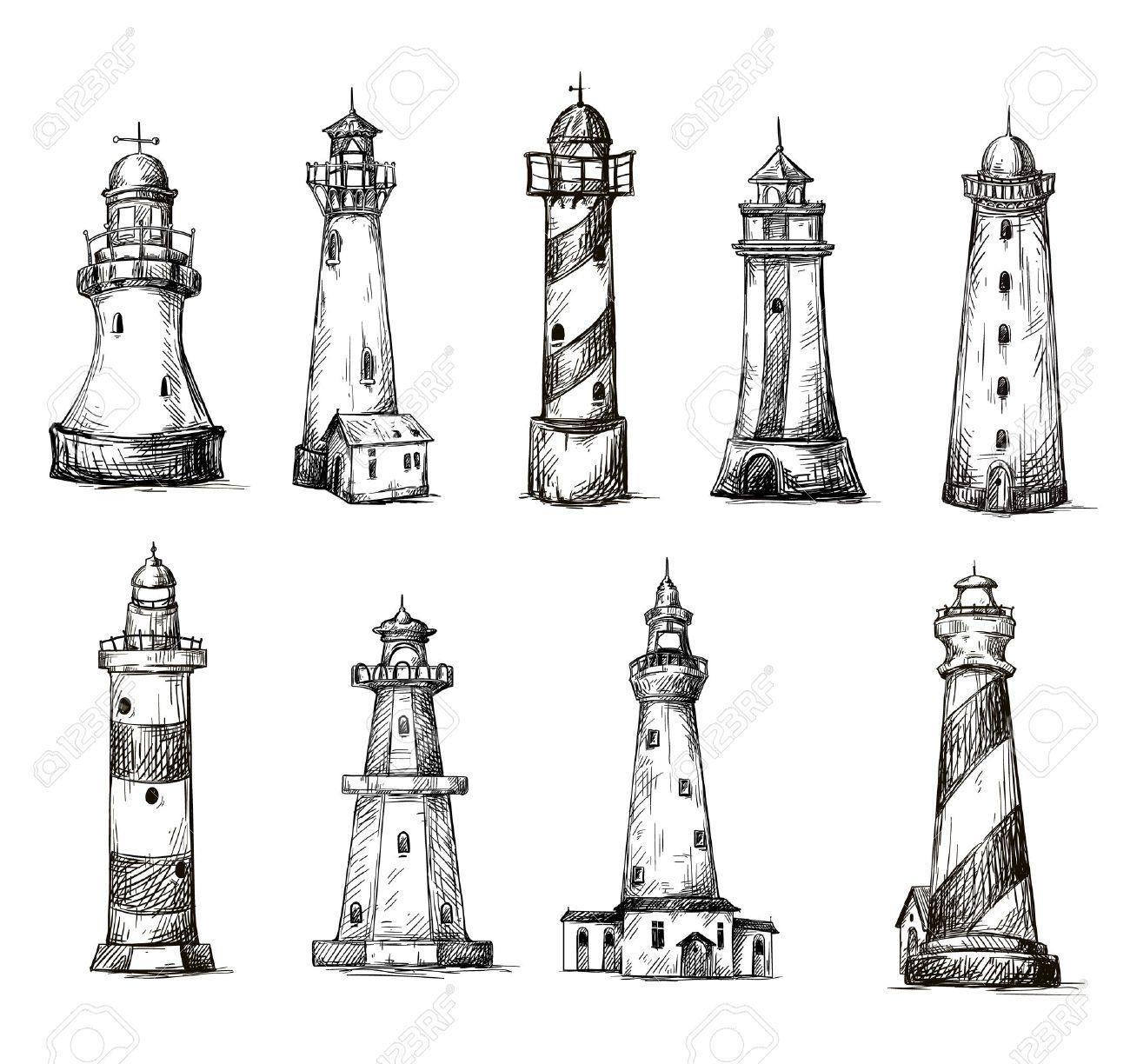 Resultado De Imagen Para Dibujos De Faros Faro Dibujo Tatuajes De Faro Tatuajes Sencillos Para Chicos
