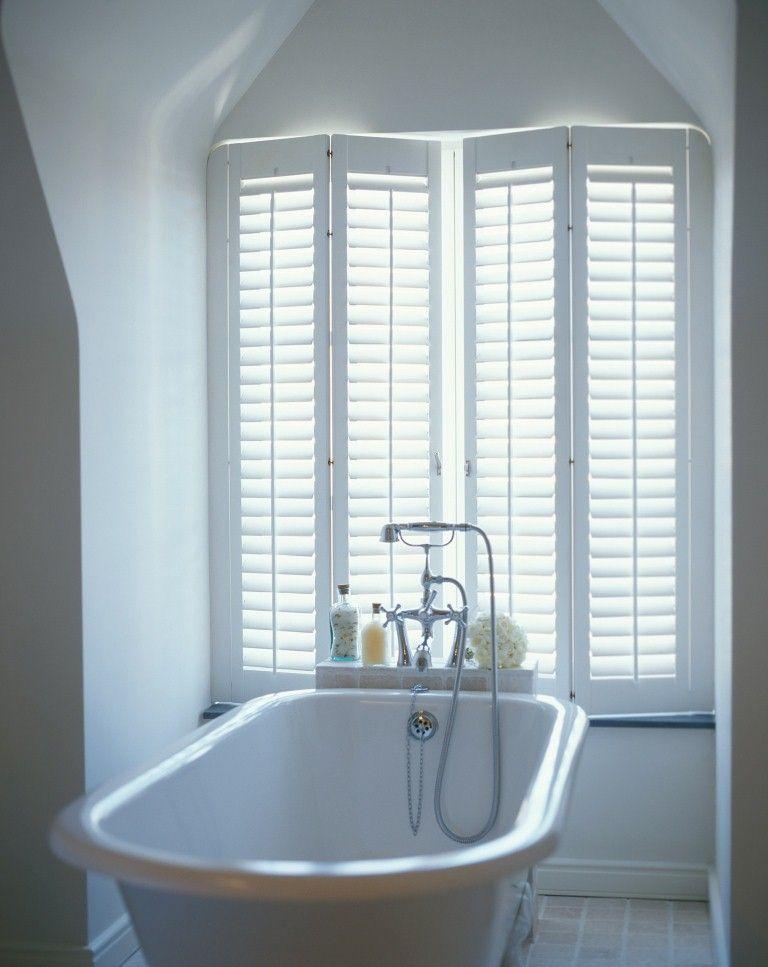 Shutters in badkamer - Door de krasvaste UV- en vochtbestendige ...