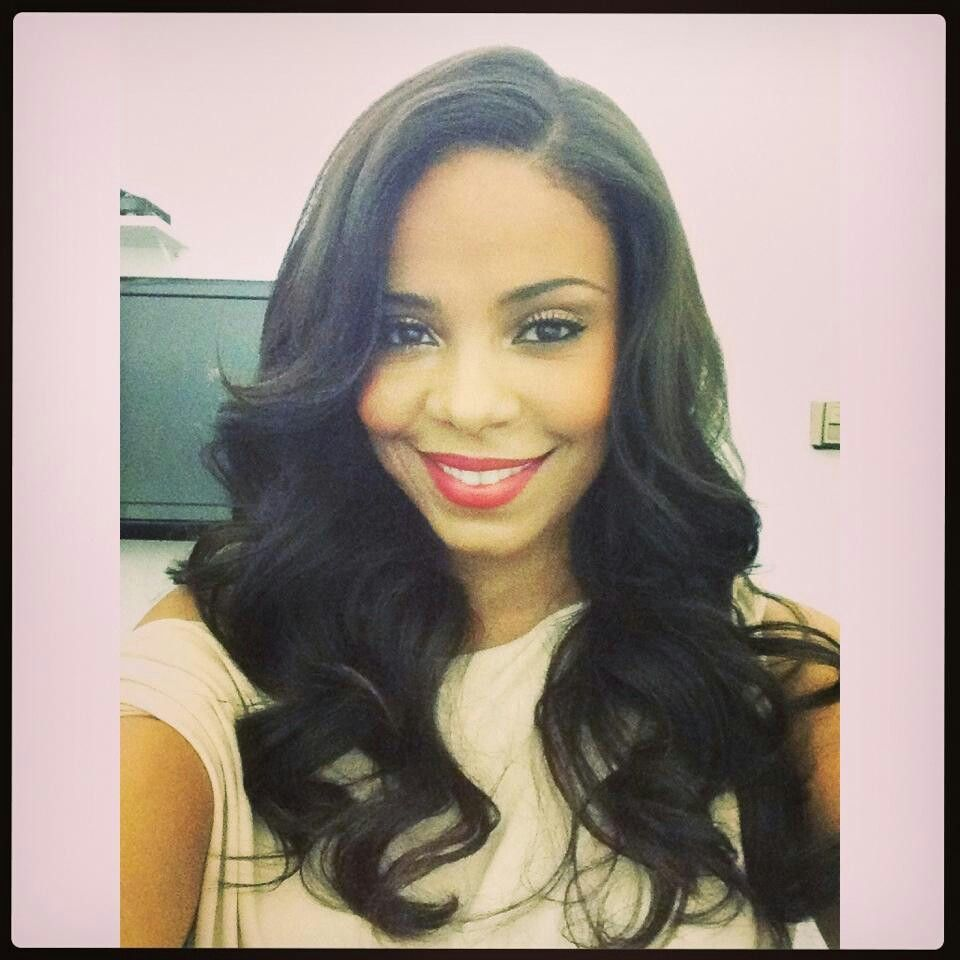 This is weave but i like the style hair styles pinterest hair