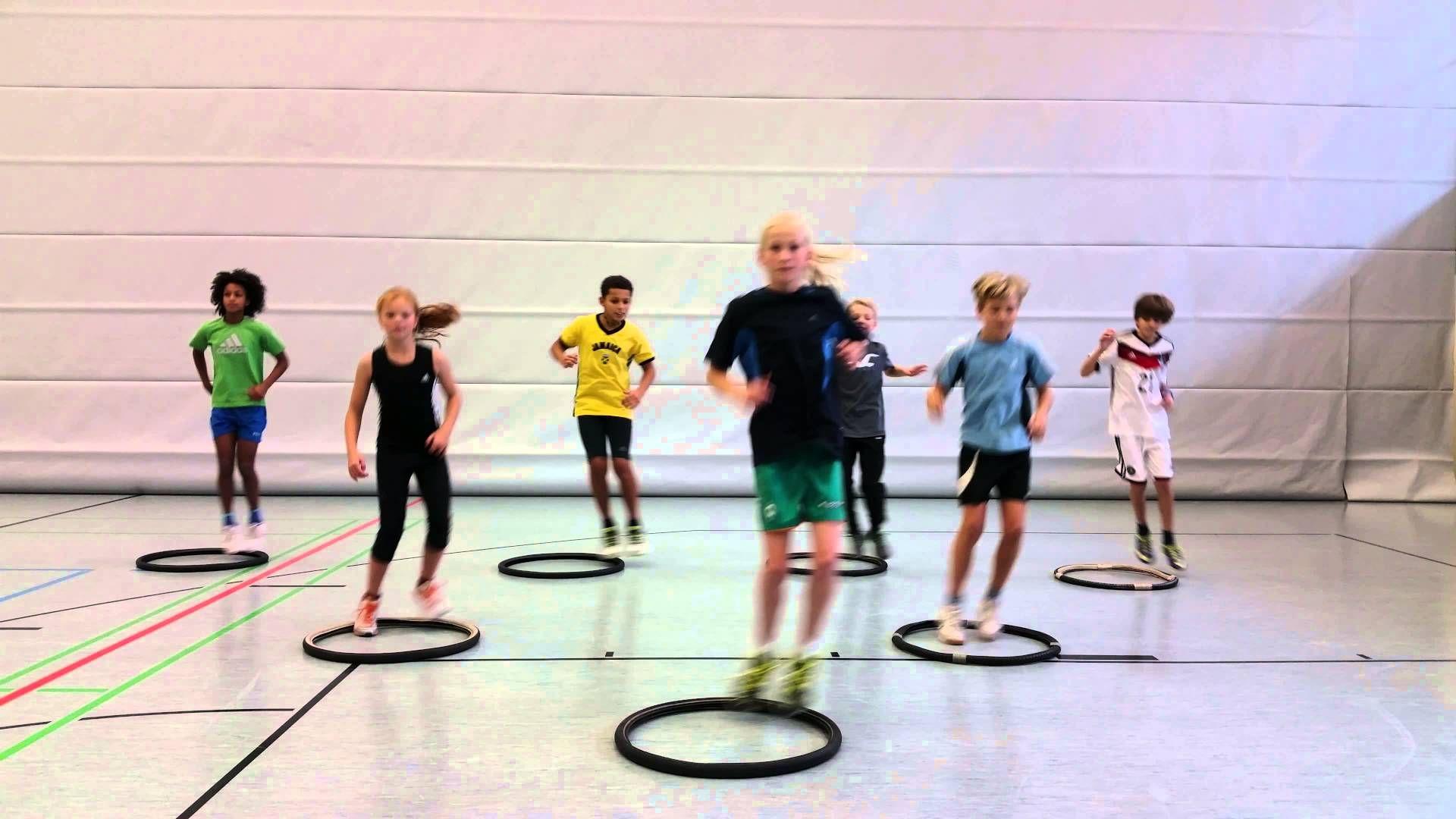 Koordinatives Sprungtraining Sportunterricht