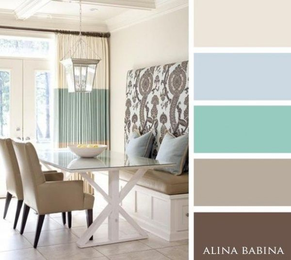 15 combinaciones ideales de colores para interiores for Colores de casas interiores