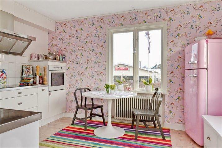 kitchen decor pink kitchen home decor on kitchen decor pink id=66889