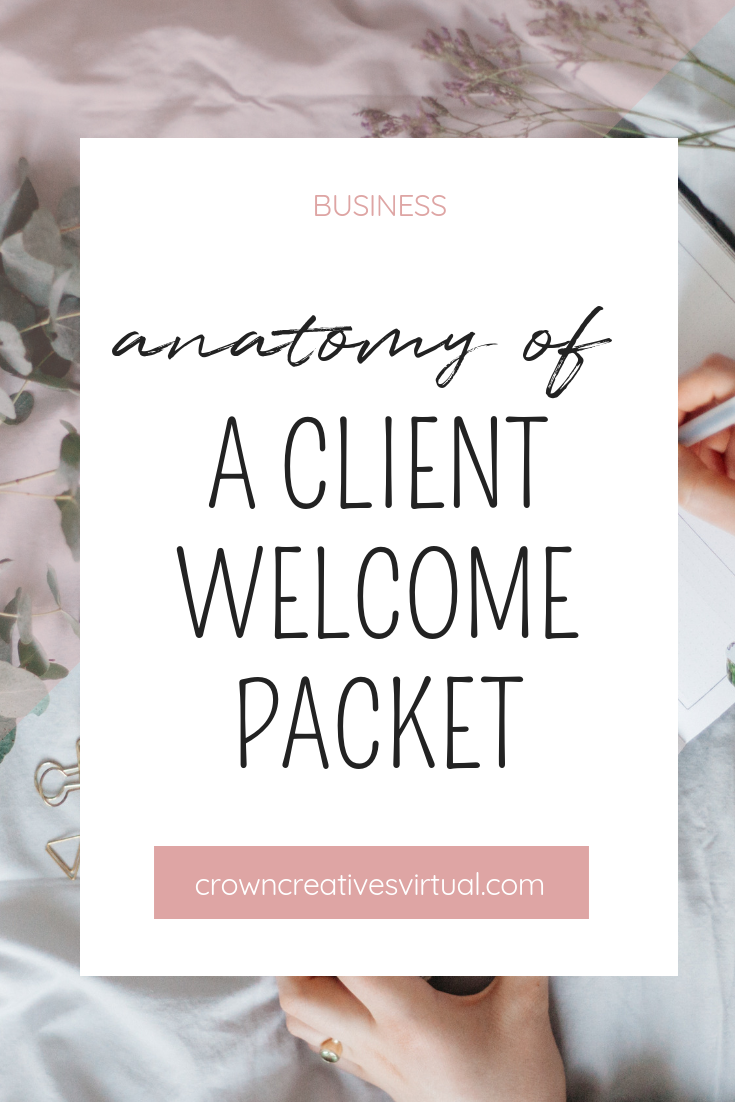 Anatomy of a Client Welcome Packet